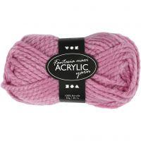 Fantasia Acrylic Yarn, L: 35 m, size maxi , rose, 50 g/ 1 ball