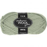 Melbourne Yarn, L: 92 m, light green, 50 g/ 1 ball