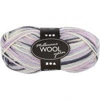Melbourne Yarn, L: 92 m, pastel lilac, 50 g/ 1 ball