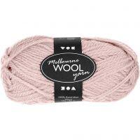 Melbourne Yarn, L: 92 m, light red, 50 g/ 1 ball