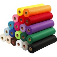 Craft Felt, W: 45 cm, thickness 1,5 mm, 180-200 g, assorted colours, 20x5 m/ 1 pack
