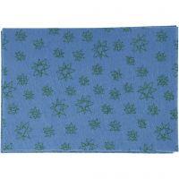 Craft Felt, A4, 210x297 mm, thickness 1 mm, blue, 10 sheet/ 1 pack