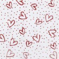 Craft Felt, A4, 210x297 mm, thickness 1 mm, white, 10 sheet/ 1 pack