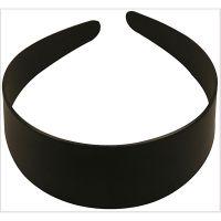 Hair Band, W: 48 mm, black, 1 pc