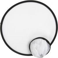 Frisbee, D: 25 cm, white, 5 pc/ 1 pack