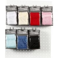 Organza Bags, size 7x10 cm, 7x10 pack/ 1 pack