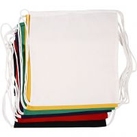 Drawstring bag, size 37x41 cm, 135 g, 6 pc/ 1 pack