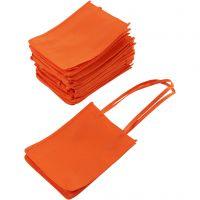 Shopping Bag, size 20x15x7 cm, orange, 20 pc/ 1 pack
