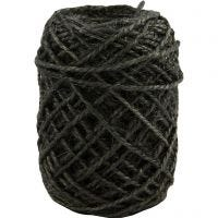 Natural Hemp, thickness 1-2 mm, grey, 30 m/ 1 roll