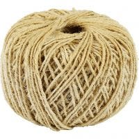 Natural Twine, thickness 2 mm, 180 m/ 1 roll