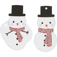Gift tags, size 11,8x6 cm, 350 g, 10 pc/ 1 pack