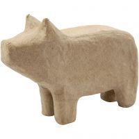 Pig, H: 9,5 cm, L: 14 cm, 1 pc