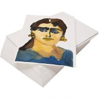 Watercolour paper, recycled, A4, 180 g, white, 100 sheet/ 1 pack