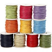 Cotton Cord, thickness 2 mm, bold colours, 10x25 m/ 1 pack