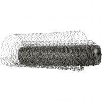 Wire Netting, W: 40 cm, 20 m/ 1 roll