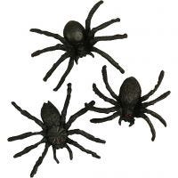 Spiders, size 4 cm, 60 pc/ 1 pack