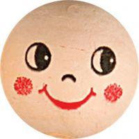 Compressed Cotton Faces, D: 22 mm, light beige, 10 pc/ 1 pack