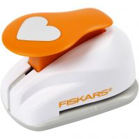 Lever Punch, heart, D: 25 mm, size M , 1 pc