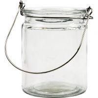 Lantern, H: 10 cm, D: 7,6 cm, 12 pc/ 1 box