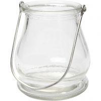 Lantern, H: 10 cm, D: 9 cm, 12 pc/ 1 box