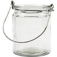 Lantern, H: 10 cm, D: 7,6 cm, 2 pc/ 1 pack