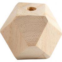 Diamond-Shaped Bead, W: 43 mm, hole size 8 mm, 3 pc/ 1 pack