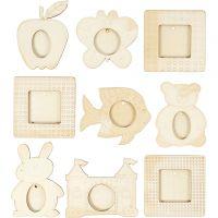 Frames, size 9,5-14 cm, 18 pc/ 1 pack