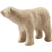 Polar Bear, H: 8,5 cm, L: 11,5 cm, 1 pc
