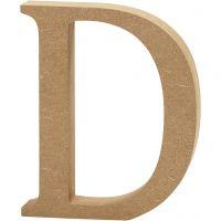Letter, D, H: 13 cm, thickness 2 cm, 1 pc