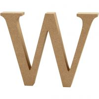 Letter, W, H: 13 cm, thickness 2 cm, 1 pc