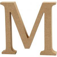Letter, M, H: 8 cm, thickness 1,5 cm, 1 pc