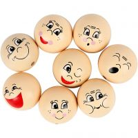 Heads, D: 30 mm, light beige, 16 pc/ 1 pack