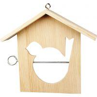 Bird Feeding House, size 19x21 cm, 1 pc