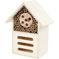Insect and butterfly hotel, H: 18 cm, depth 9 cm, W: 14 cm, 1 pc