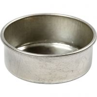 Candle Holder, H: 15 mm, D: 44 mm, 12 pc/ 1 pack