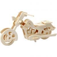 3D Construction figure, motorbike, size 19x9x9 cm, 1 pc