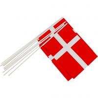 Waving Flags, size 20x25 cm, 10 pc/ 1 pack