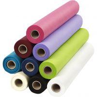 Imitation Fabric Table Cloth, W: 125 cm, 70 g, 9x10 m/ 1 pack