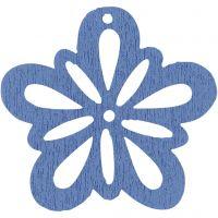 Flower, D: 27 mm, light blue, 20 pc/ 1 pack