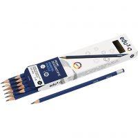 edu drawing pencil, hardness B, 12 pc/ 1 pack
