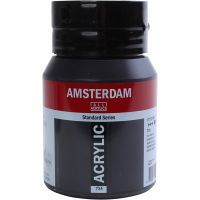 Amsterdam acrylic paint, opaque, Oxide black, 500 ml/ 1 bottle