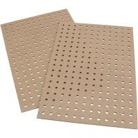 Embroidery boards, size 20x30x0,5 cm, 12 pc/ 1 pack