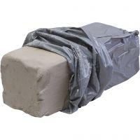 White firing stoneware clay, 10 kg/ 1 pack