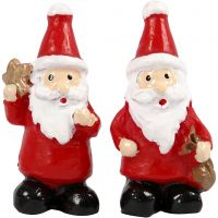 Miniature figurines, H: 35 mm, W: 17 mm, 2 pc/ 1 pack