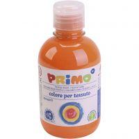 Textile paint, orange, 300 ml/ 1 bottle