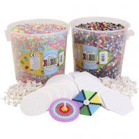 Spinning top starter kit with beads, 1 set