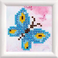 Diamond Dotz , Butterfly Sparkle, size 7,6x7,6 cm, 1 pack