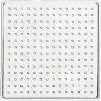 Peg Board, size 7x7 cm, transparent, 1 pc