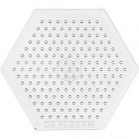 Peg Board, Small Hexagon, H: 7,5 cm, 10 pc/ 1 pack