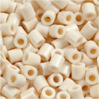 PhotoPearls, size 5x5 mm, hole size 2,5 mm, light beige (12), 1100 pc/ 1 pack